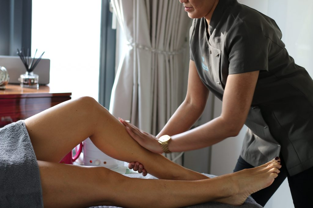 professional leg waxing at home by uspaah
